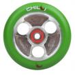CHILLI Parabol 100 mm zeleno/ stříbrné kolečko