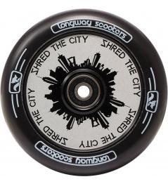 Kolečko Longway Monochrome City 110mm bílé