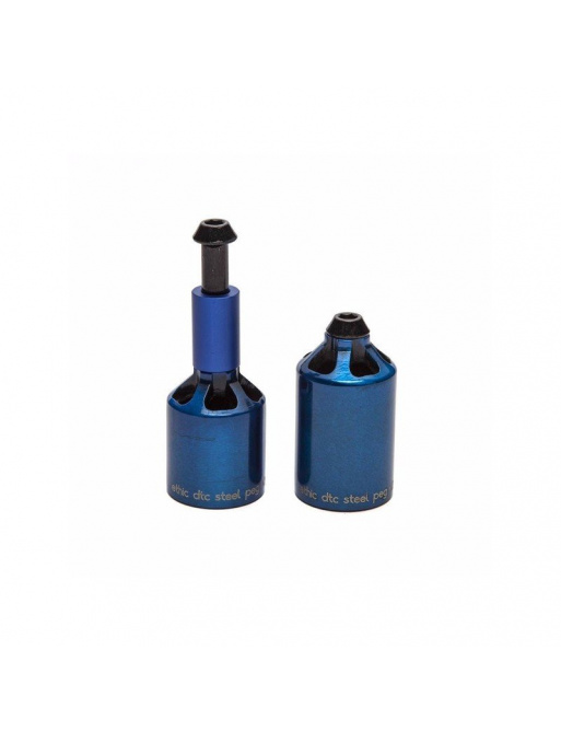 Ethic Pegs Alu set of 2 Blue