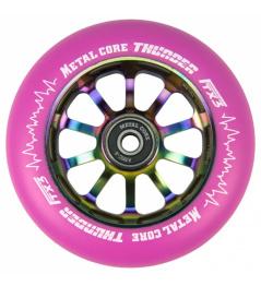 Metal Core Thunder Rainbow 110 mm kolečko růžové