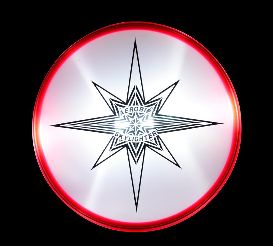 SKYLIGHTER Aerobie Flying Plate red