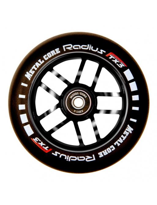 Kolečko Metal Core Radius 110mm kolečko černé