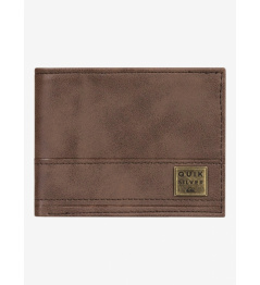 Peněženka Quiksilver New Stitchy Tri-Fold 900 csd0 chocolate brown 2020 vell.L