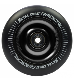 Metal Core Radical 110 mm kolečko černo černé
