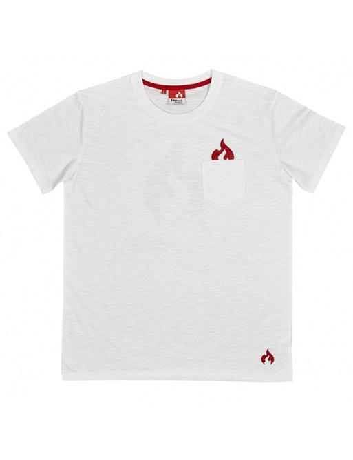 Chilli Global tričko bílé