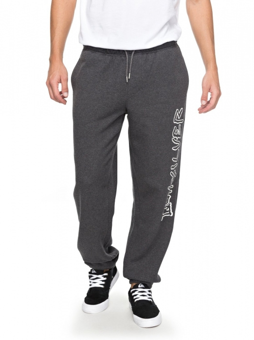 Tepláky Quiksilver Tracksuit Bottoms 137 krph dark grey heather 2018 vell.M