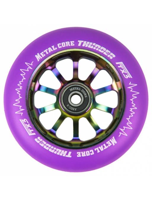 Metal Core Thunder Rainbow 110 mm koliesko fialové