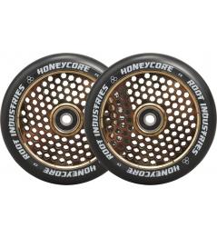 Kolečka Root Industries Honeycore black 110mm 2ks Gold Rush