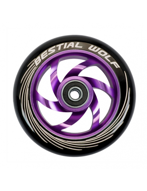 Kolečko Bestial Wolf Twister 110mm fialové