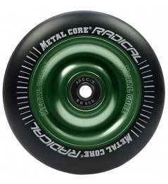 Metal Core Radical 110 mm koliesko čierno zelené