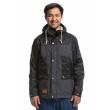 Jacket Meatfly Ned black / heather gray 2018 vell.M