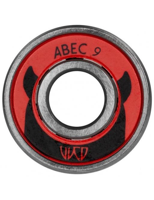 Ložiska Wicked ABEC 9 Freespin Tube