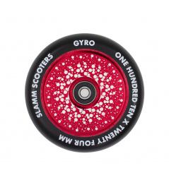 Kolečko Slamm 110mm Gyro Hollow Core červené
