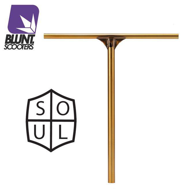 Blunt Soul zlatá řídítka 600 mm