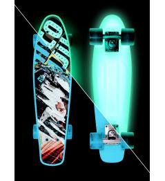 Skateboard Street Surfing BEACH BOARD  Glow Rough Poster