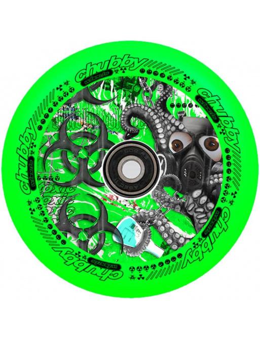 Kolečko Chubby Lab 110mm 110mm Toxic Green