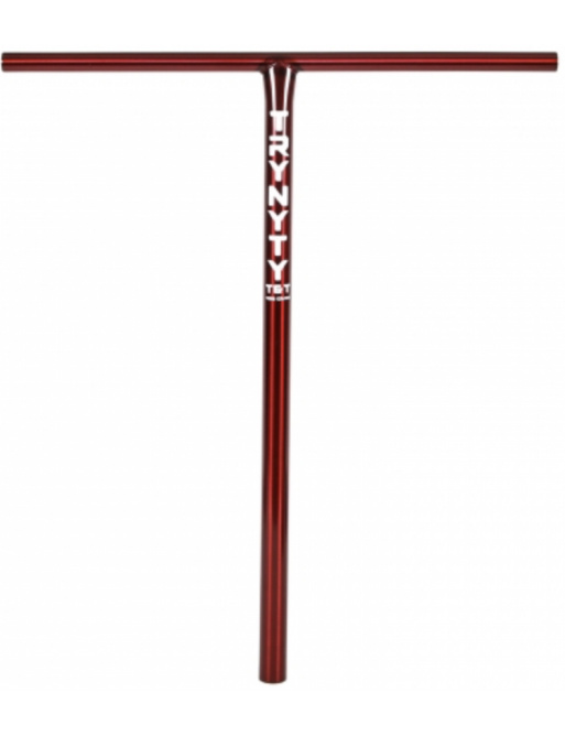 Řídítka Trynyty T&T Standard 710mm červená