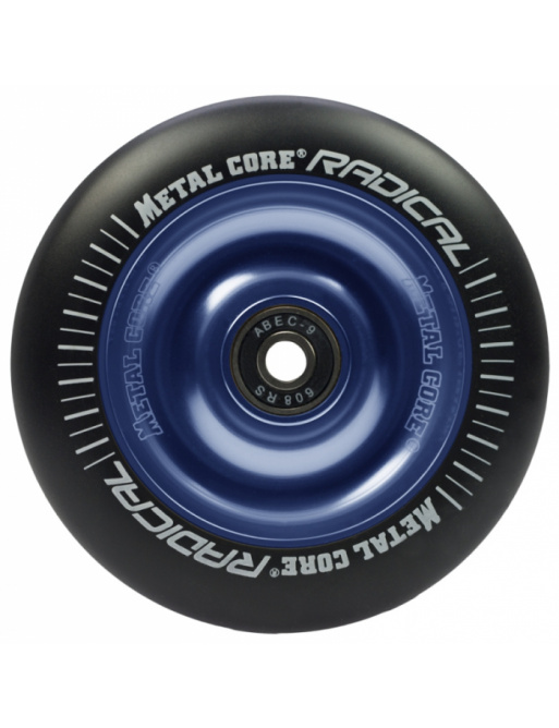 Metal Core Radical 110 mm koliesko čierno modré