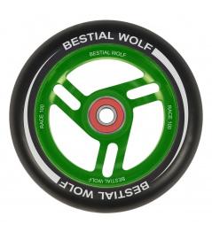 Bestial Wolf Race 100 mm kolečko černo zelené