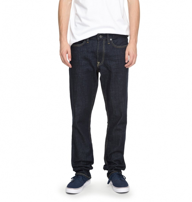 Jeansy Dc Worker Straight 324 indigo rinse 2017/18 vell.34