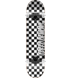 "Skateboard Speed Demons Checkers 8"" Black"