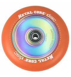 Metal Core Disco 110 mm naranja rueda