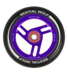 Bestial Wolf Race 100 mm kolečko černo fialové