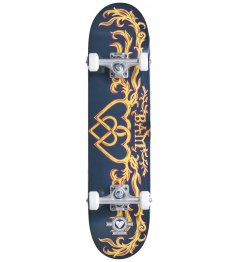 "Skateboard Heart Supply Bam 7.25"" Bamly Black"