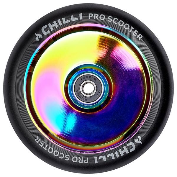 Chilli FAT 120/27 mm rueda del arco iris