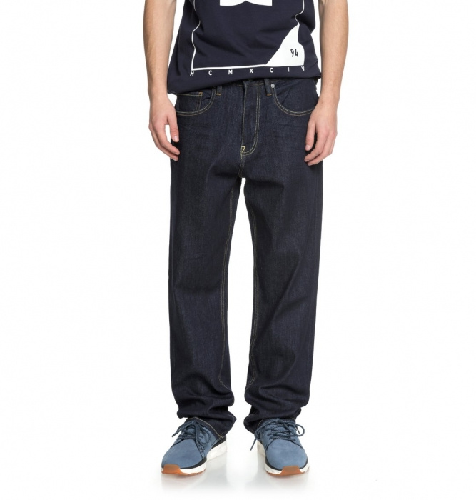 Jeansy Dc Worker Relaxed indigo rinse 2018 vell.31