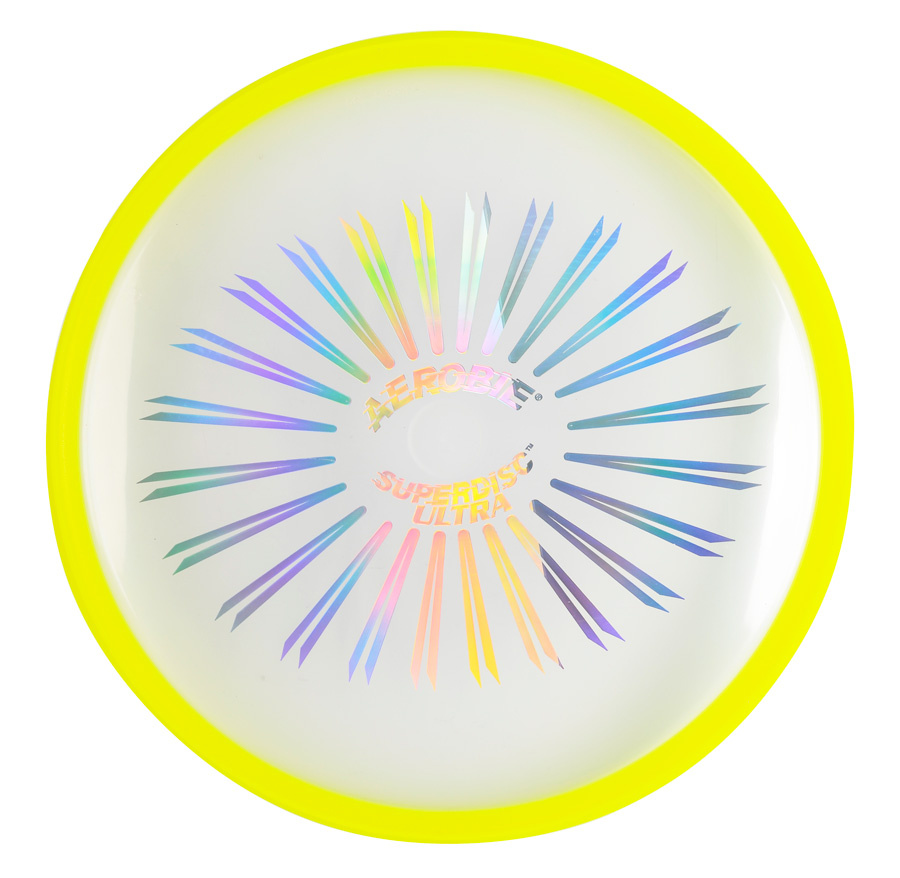 Aerobie Flying Plate SUPERDISC ULTRA Yellow