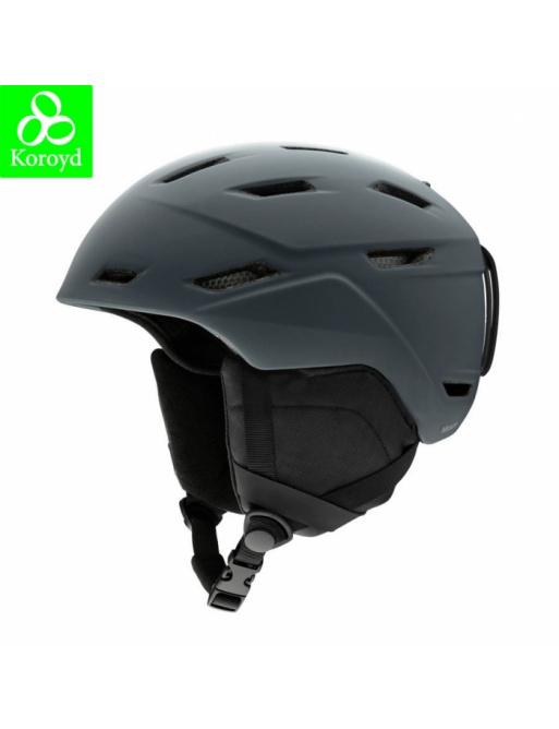 Helmet SMITH Mission matte charcoal 2020/21 size L / 59-63cm
