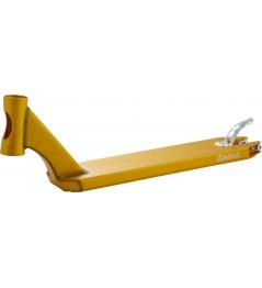 Deska Apex 490mm zlatá + griptape zdarma