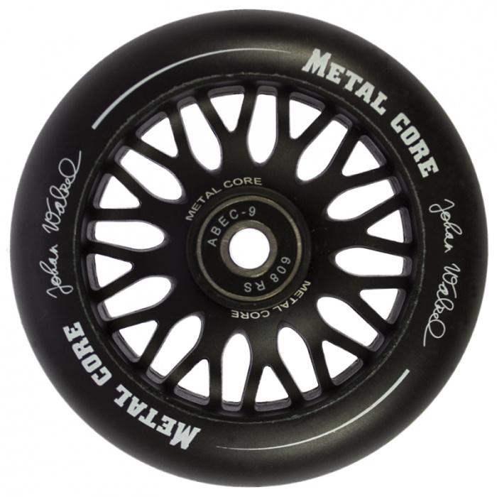 Metal Core PRO model Johan Walzel 100 mm black wheel