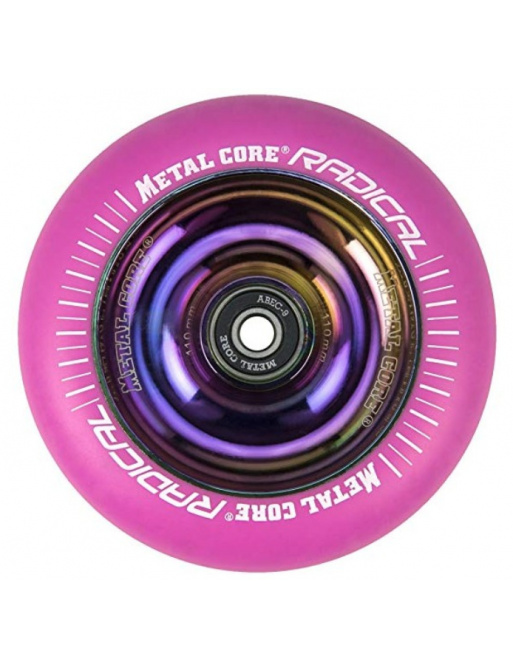Metal Core Radical Rainbow 110 mm kolečko růžové