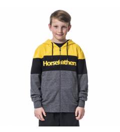 Mikina Horsefeathers Trevor lemon 2020 dětská vell.M