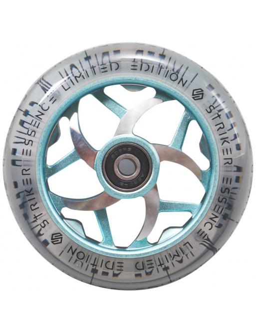 Kolečko Striker Essence V3 Clear 110mm tyrkysové
