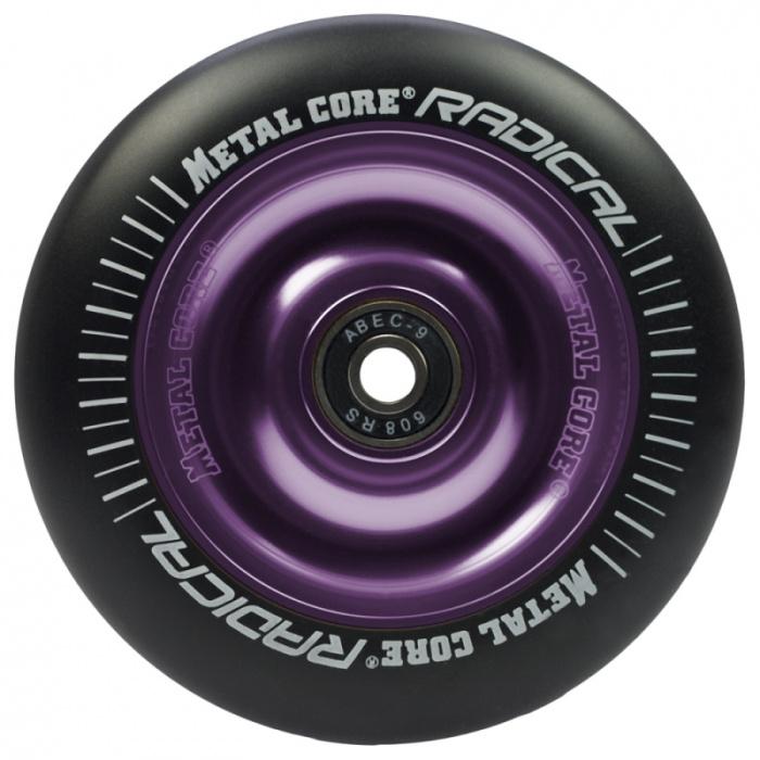 Metallkern Radical 110 mm rund schwarzviolett