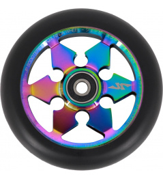 JP Ninja 6-Spoke 110mm Neochrome kolečko