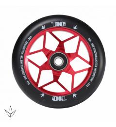 Blunt Diamond 110 mm castor red