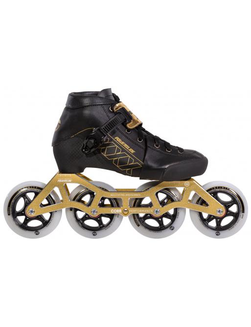 Dětské kolečkové brusle Powerslide XXX Adjustable Gold