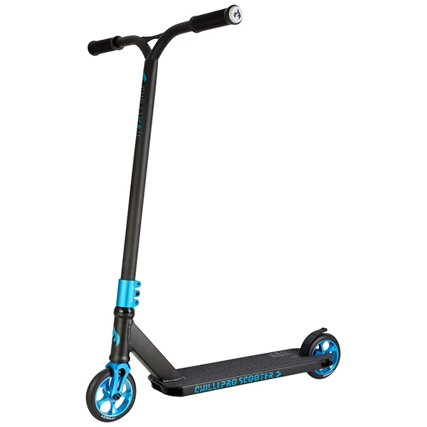 Chilli Reloaded Ghost freestyle scooter azul