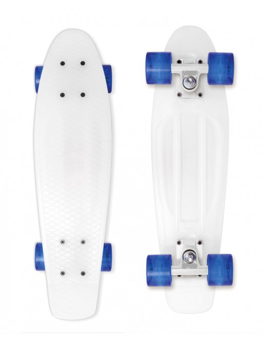 Skateboard Street Surfing BEACH BOARD Milky, white