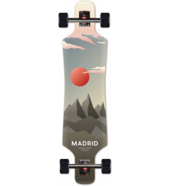 "Longboard Madrid Lifestyle Longboard 39"" Luna"