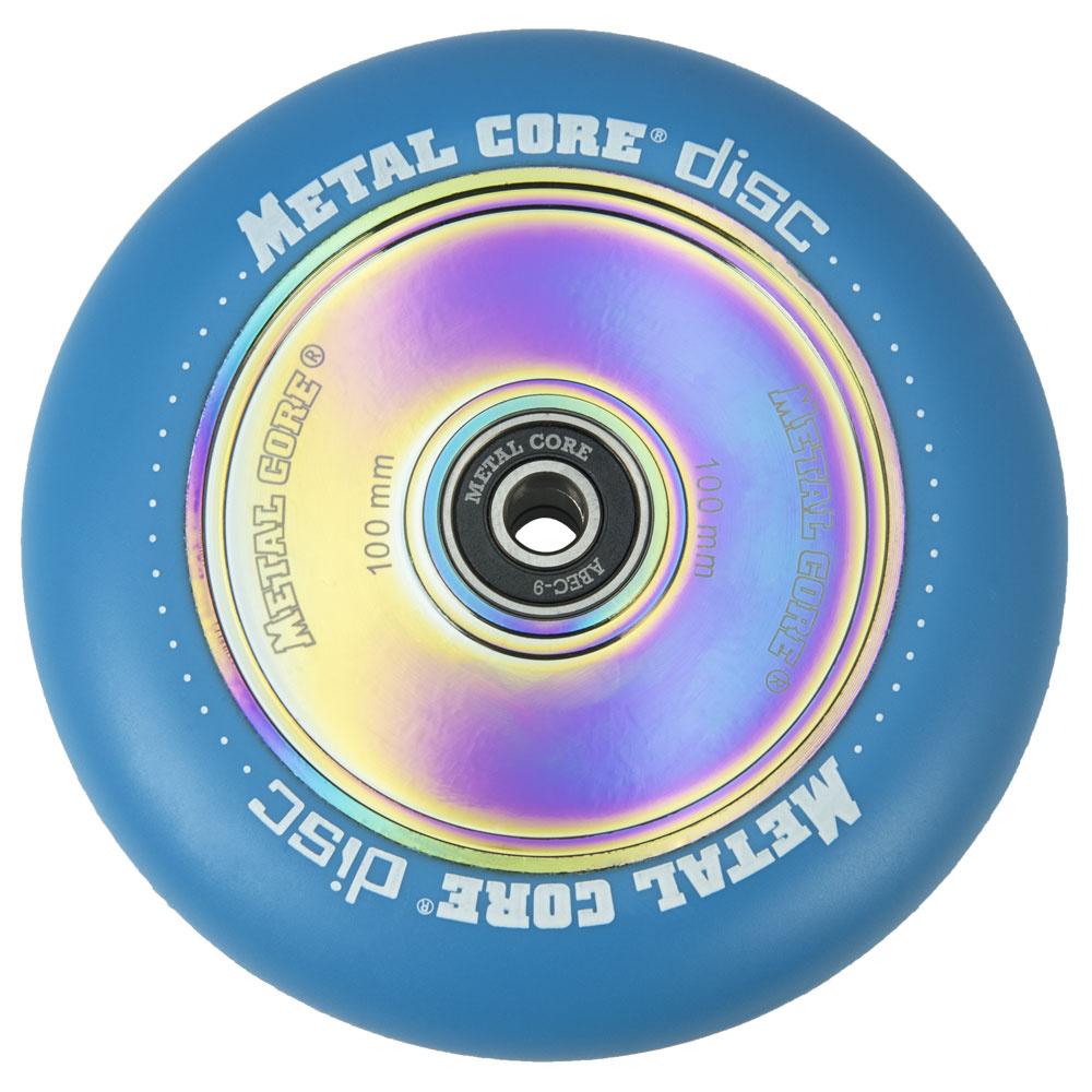 Metal Core Disc 100 mm kolečko modré