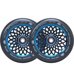 Kolečka Root Lotus 110x24mm Blu-ray/Black 2ks