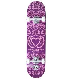 "Skateboard Heart Supply Bam 7.75"" United Purple"