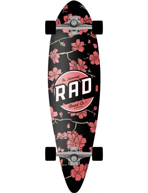 "RAD Mini Pintail Complete Longboard (32""   Cherry Blossom)"