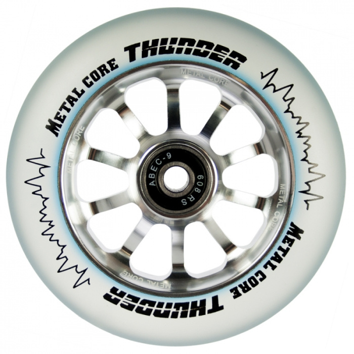 Metal Core Thunder 110 mm silver wheel