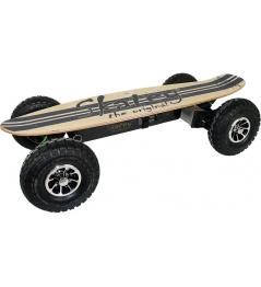Elektrický longboard Skatey 900 Off-road wood jeans